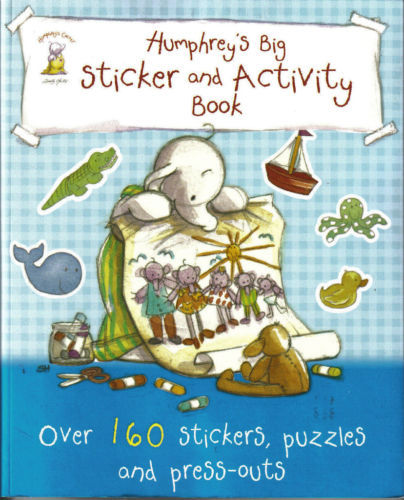 Humphrey's Big Sticker and Activity Book-OVER 160 STICKERS,PUZZLES,AND PRESS-OUT