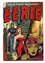 EERIE #15-1954-WOMAN CHAINED ON COVER-1954 WEREWOLF STORY-HORROR - $351.63
