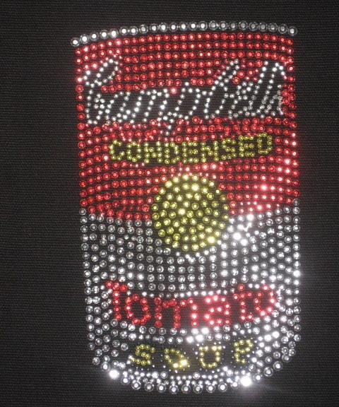 Campbell's Soup- Sequined Logo- Tote- New image 2