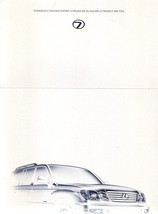 2007 Lexus LX 570 LIMITED EDITION brochure catalog 07 US - $10.00