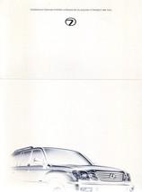 2007 Lexus LX 570 LIMITED EDITION brochure catalog 07 US - $9.00