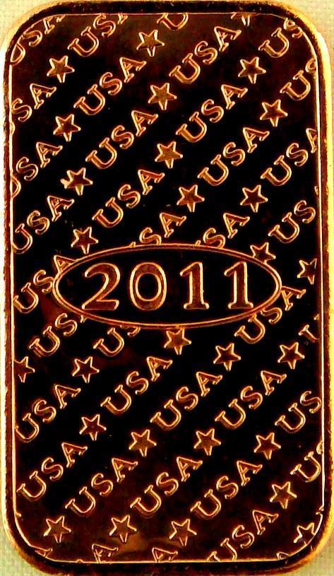 (20) 1 Roll AVDP Oz.999 Fine Copper ingot Walking Liberty Design 1REFCO