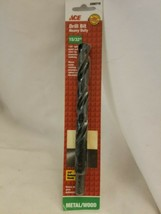 "ACE 15/32"" Metal / Wood Drill Bit Heavy Duty 2000719 - $8.86"