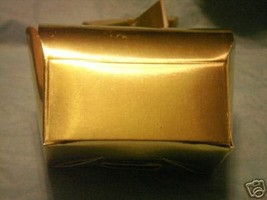 10 gold chest Shower  Wedding Favor candy Boxes  - $6.75