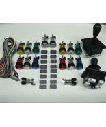 NEW Arcade JAMMA 60 in 1 Kit w/ 2 Joysticks 4 &... - $69.00