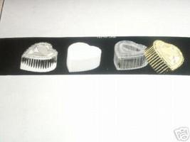 12 Gold Plastic Heart Box Wedding Favor Candy Holder - $3.95