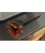 Collector Handmade Sunflower Pen Black Ink  - $12.00