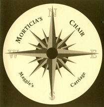 Morticia's Chair - Maggie's Carriage 1998 CD OOP Alt Rock - $5.00