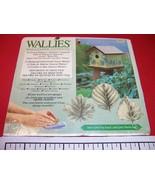 Wallies Wallpaper Cutouts Pfalzgraff Naturewood Leaves 12914 - $8.15