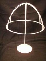 "2 Wire Umbrella centerpiece 17.0"" tall decoration white - $14.99"