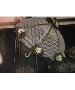 "32"" Bridal Shower Wedding Brown  daisy UMBRELLA PARASOL - $24.70"