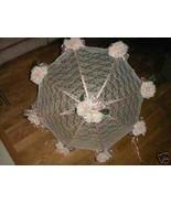 "32"" Bridal Shower Wedding  Lace & pink roses Umbrella - $28.66"