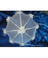 "32"" Bridal Shower Wedding White Lace and roses Umbrella - $24.95"