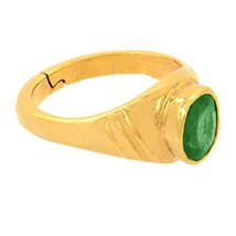 6.25 carat Natural Emerald Ring For Unisex in York - $190.00