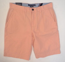 Tommy Hilfiger Pink Peach Classic Fit Flat Front Shorts Men's NWT - $37.49