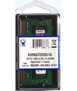 NEW Kingston ValueRAM 1GB SO-DIMM pc2-5300 667MHz DDR2 Memory (KVR667D2S... - $15.17