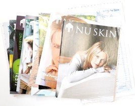 12 Nu Skin Co. vintage catalogues and brochures... - $17.00