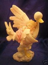 Baby Girl Sleeping on a stork Cake top centerpiece  - $8.99