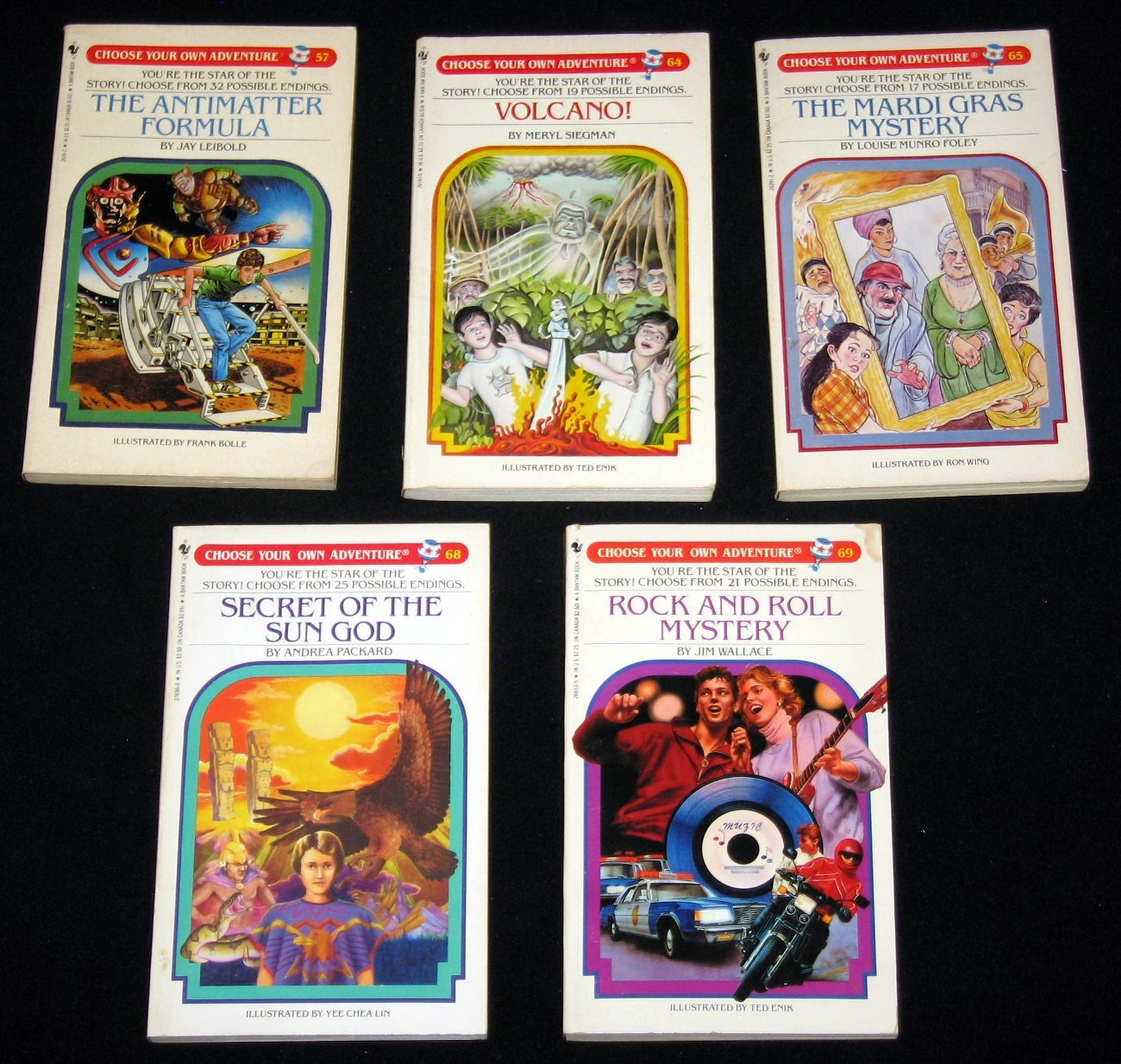 Choose Your Own Adventure Books Lot Of 33 Between 1 And