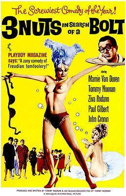 Primary image for 3 Nuts In Search Of A Bolt - 1964 - Movie Poster