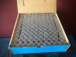Vintage Anco Dime Coin Storage Tubes (Box of 100) NEW image 2