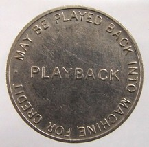 OLD Undated Playback Machine Credit No Cash Merchandise Value Nickel TOKEN - $2.99