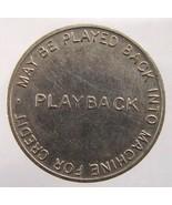 OLD Undated Playback Machine Credit No Cash Merchandise Value Nickel TOKEN - $2.99