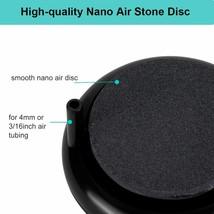 Aquarium Air Stone Kit, Round Air Disk Set for Hydroponics image 2