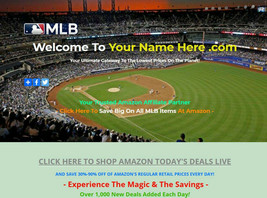 MLB FAN SHOP WEBSITE BUSINESS FOR SALE - HOT SELLING ITEMS FROM ALL THE ... - $445.50