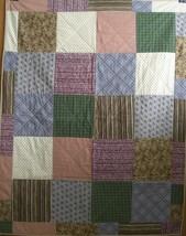 Plaid, Check, Stripe Quilt - $60.00