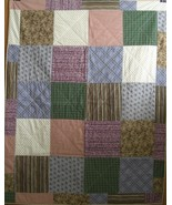 Plaid, Check, Stripe Quilt - $60.00