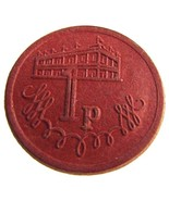 VINTAGE BRITISH / UK 1P TOKEN- J. T. PARRISH NEWCASTLE ON TYNE - $4.99