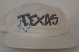 Vintage Hipster snapback mesh cool rare Texas hat ops 1980's made in USA zz - $29.02