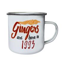 Gingers are born in 1993 Retro,Tin, Enamel 10oz Mug c294e - $13.13