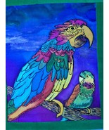 """With mom"" Silk painting - $28.00"