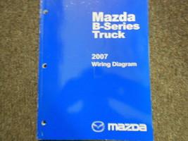 2007 Mazda B-Serie Truck Elektrisch Wiring Service Reparatur Shop Manuell - $29.66
