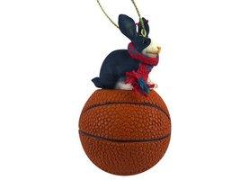 Rabbit Black & White Basketball Ornament - $17.99