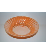 Vintage Fire-King Peach Luster Swirl Serving Bowl   - $22.00