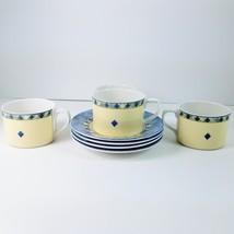 """Royal Doulton """"CARMINA"""" Set of 4 Cups & Saucers  2 1/2"""" Tall  #TC1277  - $39.74"""