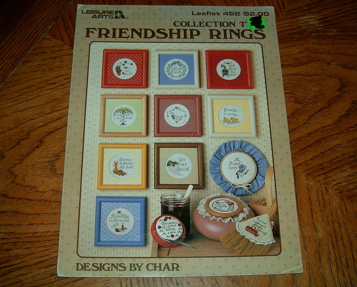 Friendship Rings Collection Two Stitching Craft Book