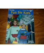Fun for Kids Four Sweaters to Knit No 983 - $5.00