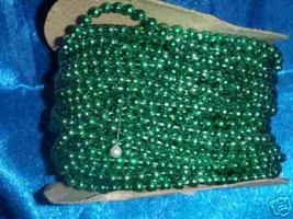 Pearls on a string 20 yards green - $7.00