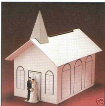 Wedding Card Bridal Gift Money Wishing Well Box chapel - $17.00