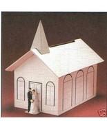 Wedding Card Bridal Gift Money Wishing Well Box chapel - $17.00