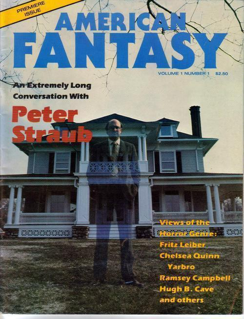 Primary image for American Fantasy #1 Premiere Issue Peter Straub Horror Ramsey Campbell Yarbro