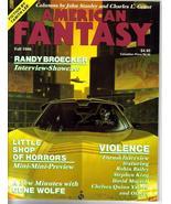 American Fantasy V2 #1 Autographed by Michael Whelan Randy Broecker Gene... - $15.92