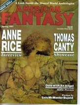 American Fantasy V2 #3 Anne Rice Thomas Canty Thieves World Date With An... - $15.92