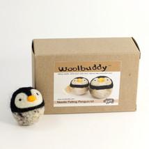 Woolbuddy Penguin Wool Felting Needle Point Kit Crafting Gift - $19.99