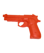 USA Practice Rubber 92 Auto Gun Pistol Police Trainer f safety orange - $29.95