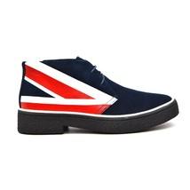 British Walkers Collection Men's Original Playboy Old-School Shoes Union Jack - $130.00 - $150.00